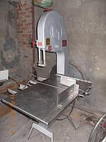 Пила КТ-400, (Финляндия), для полутуши, ленточная односкоростная, предназначена для резки мяса, рыбы, костей,