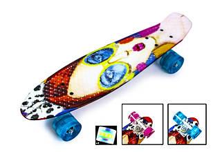 Пенні Борд Penny Board 22Д Cool Girl Світяться колеса