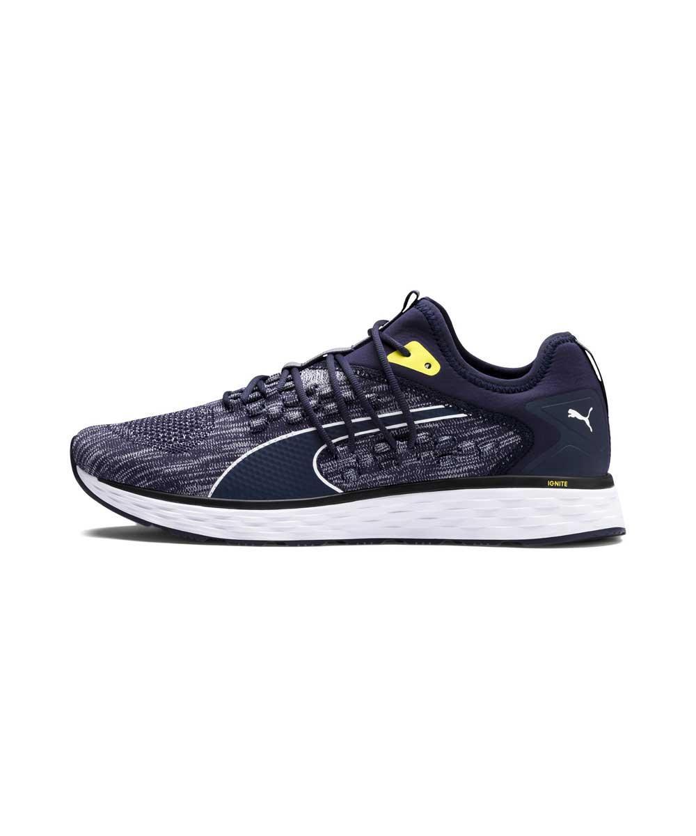 Мужские синие спортивные кроссвоки Puma SPEED FUSEFIT