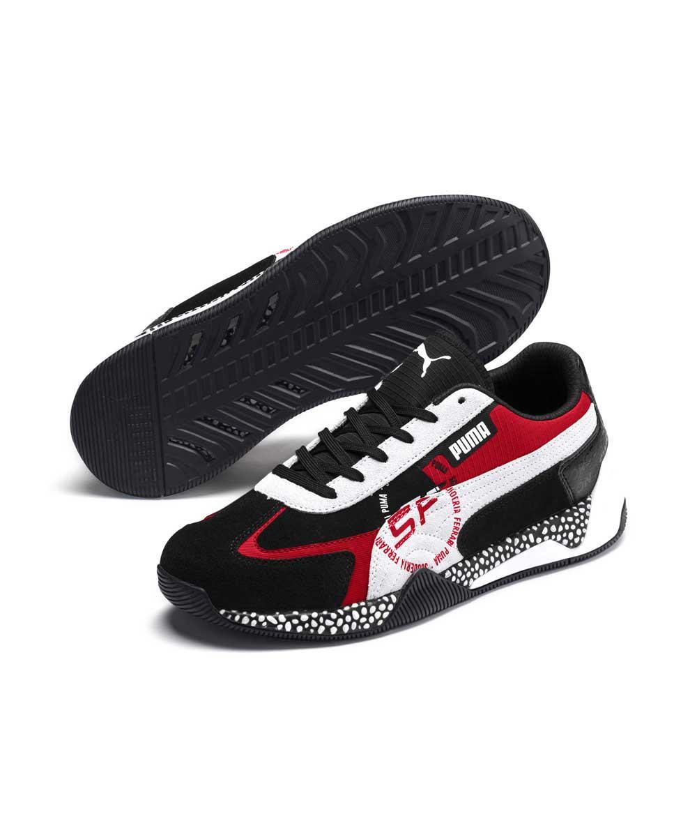 Мужские спортивные черные кроссовки Puma Sf Speed Hybrid Ferrari