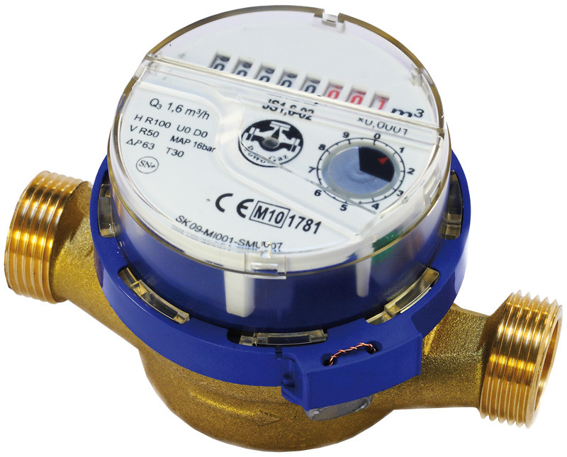 Счетчик воды одноструйный 15 JS-1,6 SMART ХВ (антимагнит)
