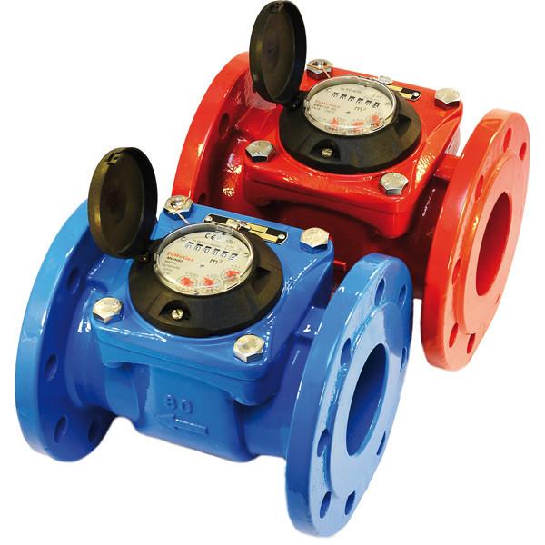 Счетчик воды турбинный Apator Powogaz MWN 130-125 (ГВ)