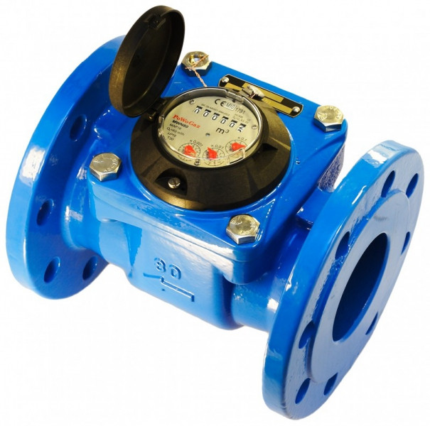 Счетчик воды турбинный Apator Powogaz MWN 250 (ХВ)