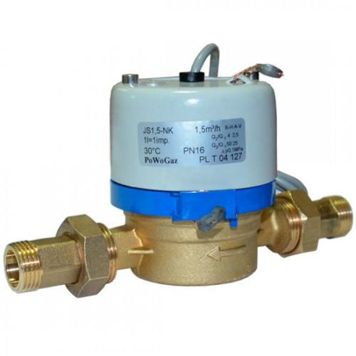 Счетчик воды с импульсным выходом 15 JS-1,5-NK (ХВ)
