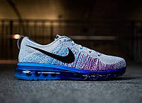 Кроссовки мужские Nike Air max Flyknit 2014 Wolf Grey. кроссовки 2014, кроссовки nike