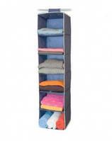 Подвесной Органайзер для Хранения Одежды 6 Секций