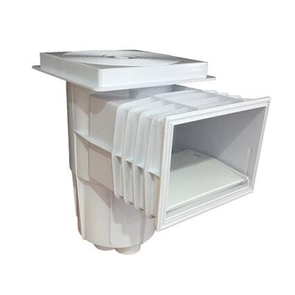 Emaux Скиммер Emaux EM0130-SC Standart (под бетон) квадратная крышка