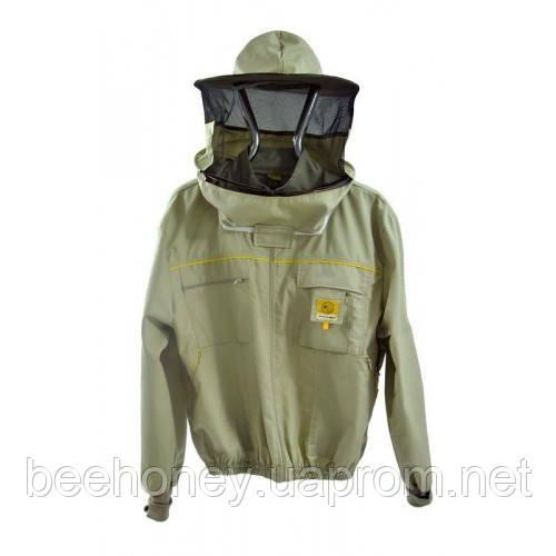 Куртка бджоляра з замком Premium Line. Розмір XL / 54 зріст 182 см