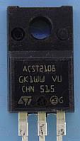 Тиристор 800В 2А ST ACST210-8FP TO220F
