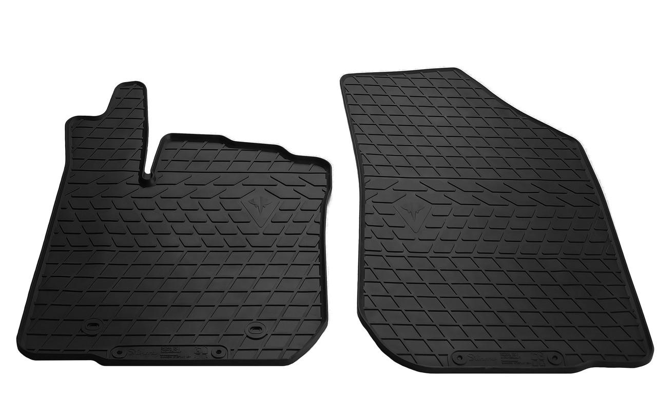 Коврики в салон резиновые передние для Renault Sandero Stepway 2013- Stingray (2шт)