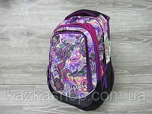 """Школьный прочный рюкзак для девочек, ранец, изображение """"Абстракция"""", на 3 отдела"""