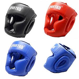 Защитная экипировка для бокса. Защитный шлем - маска( кожвинил )