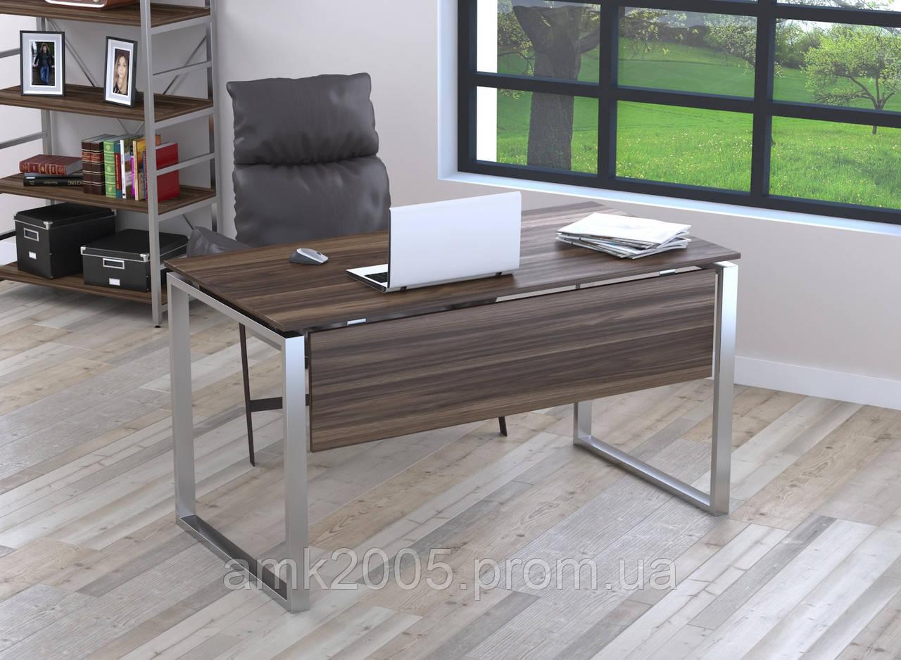 Письменный стол Loft design Q-135 с царгой Орех Модена