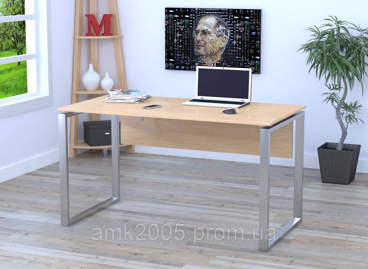 Письменный стол Loft design Q-135 с царгой Дуб Борас