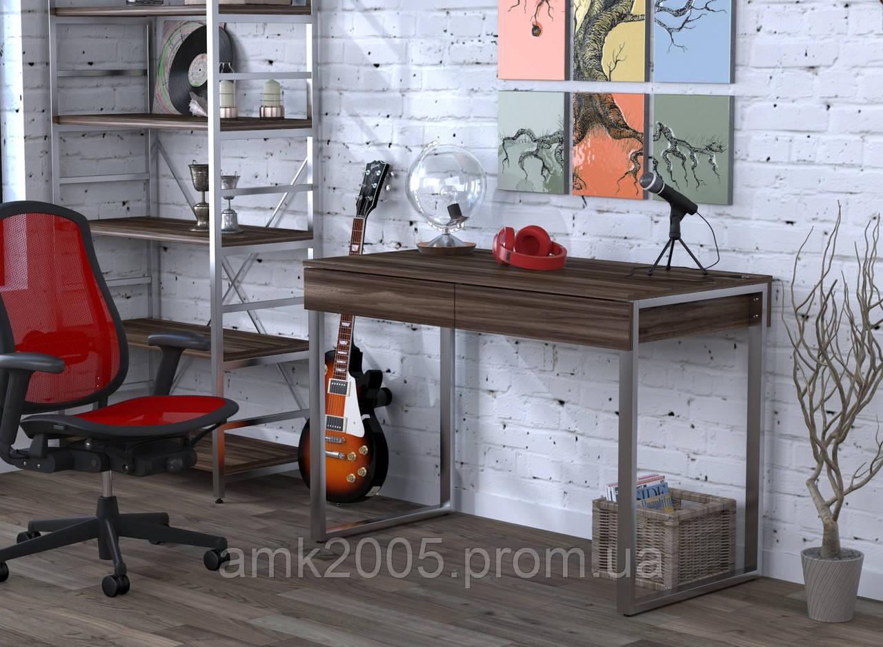 Письменный стол L-11 Loft design Орех Модена