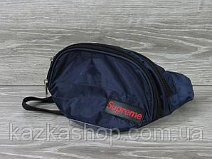 Мужская бананка, барыжка, сумка на пояс, с накатом в стиле Supreme (реплика), полиэстер