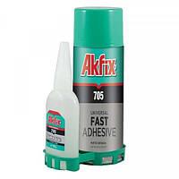 Универсальный клей-гель Akfix 705 Fast Adhesive с активатором 100 г