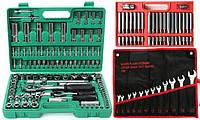 Набор головок ключей инструментов Tagred 108 ел + 12ел VERKE + Биты 40 ел.
