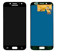 Дисплей (экран) Samsung J530, J530F Galaxy J5 (2017) PLS TFT (с регулируемой подсветкой)с тачскрином, черный