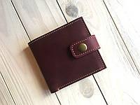 Женский кошелек ручной работы из кожи Goose™ G0034 марсала