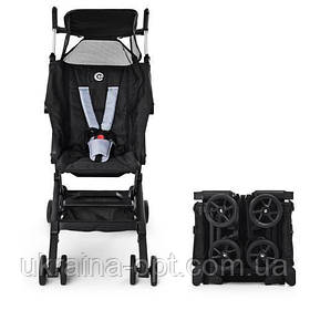 Детская туристическая коляскаME 1033 QWERTY BLACK