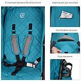 Детская коляска RUSH TURQUOISEME 1013 L, фото 4