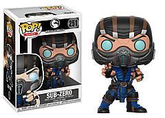 Фигурка Funko Pop Мортал Комбат Саб-Зиро Mortal KombatSub-Zero MK S-Z251