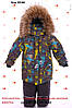 Детские зимние комбинезоны для мальчиков на холлофайбере, фото 4