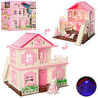 """Игровой набор ''Зайкин дом"""". Материал домика: пластик. Световые эффекты. 1515"""