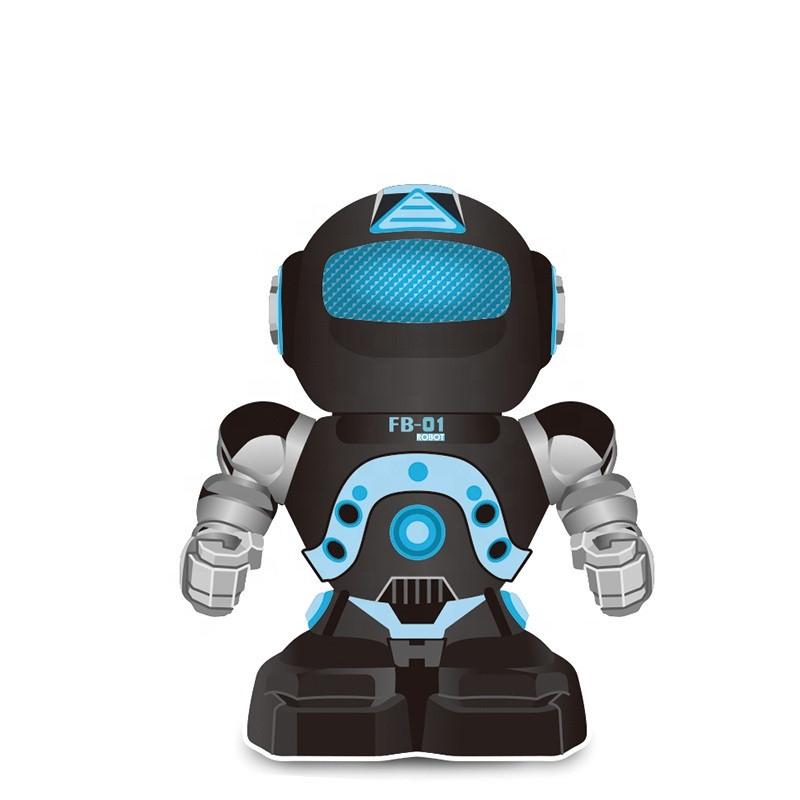 Робот FUNNY BOX FB-01 багатофункціональний робот з пультом-годинником на р/к Чорний (SUN4835)