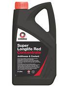 SUPER RED KONС COMMA антифриз-концентрат 2л. G12+ (красный), Англия