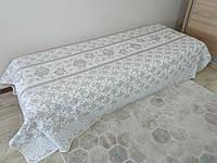 Покрывало ROZE для односпальной кровати, серый