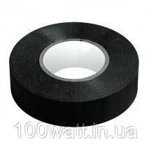 Изолента черная 0,13мм х 18мм х 20м огнестойкая Lan Tong PVC GAV 74