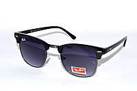 Модные очки солнцезащитные рей бан, очки в стиле Ray Ban Clubmaster