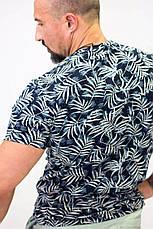 Футболка мужская Pepe Jeans темно-синий листва, фото 3