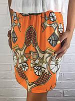 Юбка женская Wen Yi 1706 оранжевая