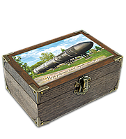 Еко-шкатулка 10х15см. Музей ракетних військ стратегічного призначення