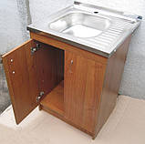 Мийка з тумбою 60х60 накладна (глибока), фото 5