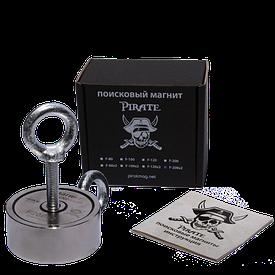 Поисковый магнит Пират F-200*2 Двухсторонний + Трос в подарок!