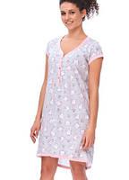 Ночная рубашка для беременных и кормящих Dobranocka TM.9620