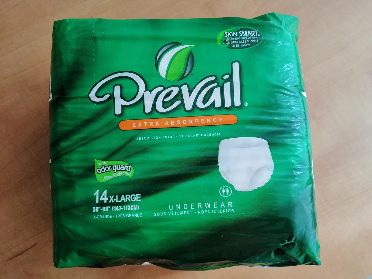 Подгузники-трусы для взрослых Prevail