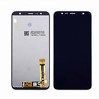 Дисплей для SAMSUNG J610 Galaxy J6 Plus (2018) с черным тачскрином, с регулируемой подсветкой (ID:19291)
