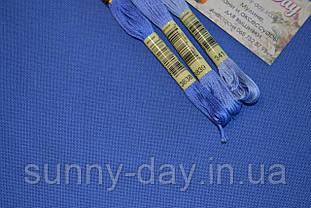 Домотканое полотно, небесно синий, 50*70см