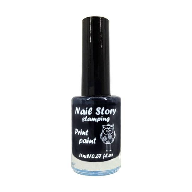 Лак для стемпинга Nail Story (чёрный)