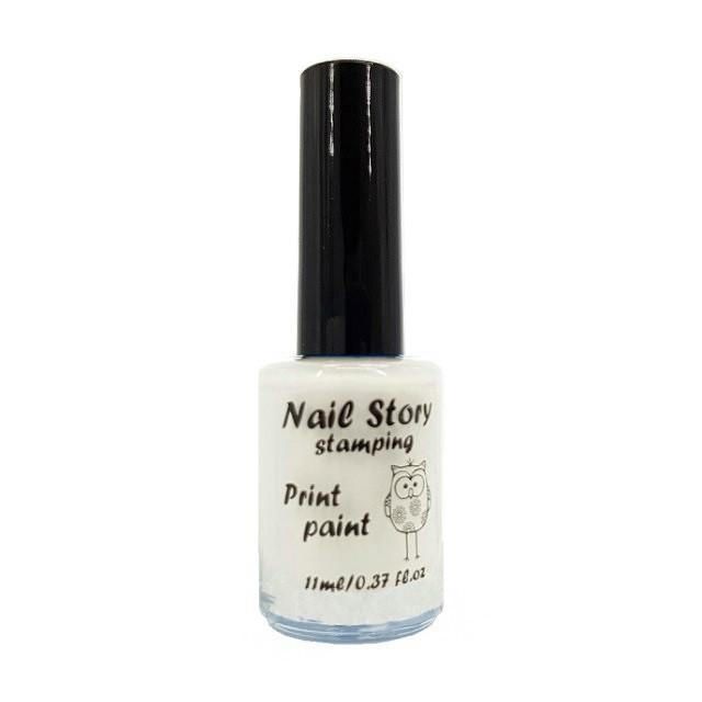 Лак для стемпинга Nail Story (белый)