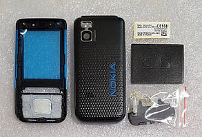 Корпус для Nokia 5610 black-blue, фото 3
