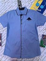 Рубашка  для мальчика  от 9 до 14 лет.