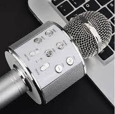 Мікрофон караоке Bluetooth USB SD бездротовий WS858