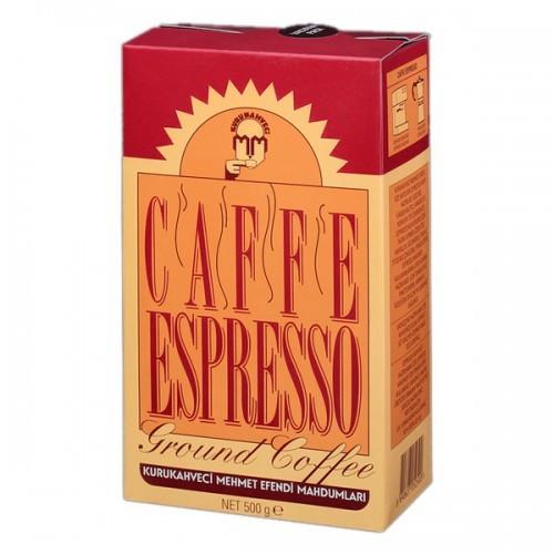 Турецкий кофе молотый Kurukahveci Mehmet Efendi Caffee Espresso 250 г оригинал