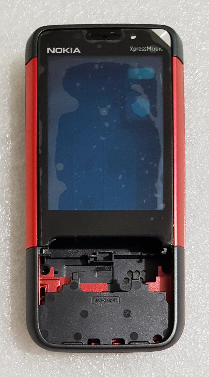 Корпус для Nokia 5610 black-red